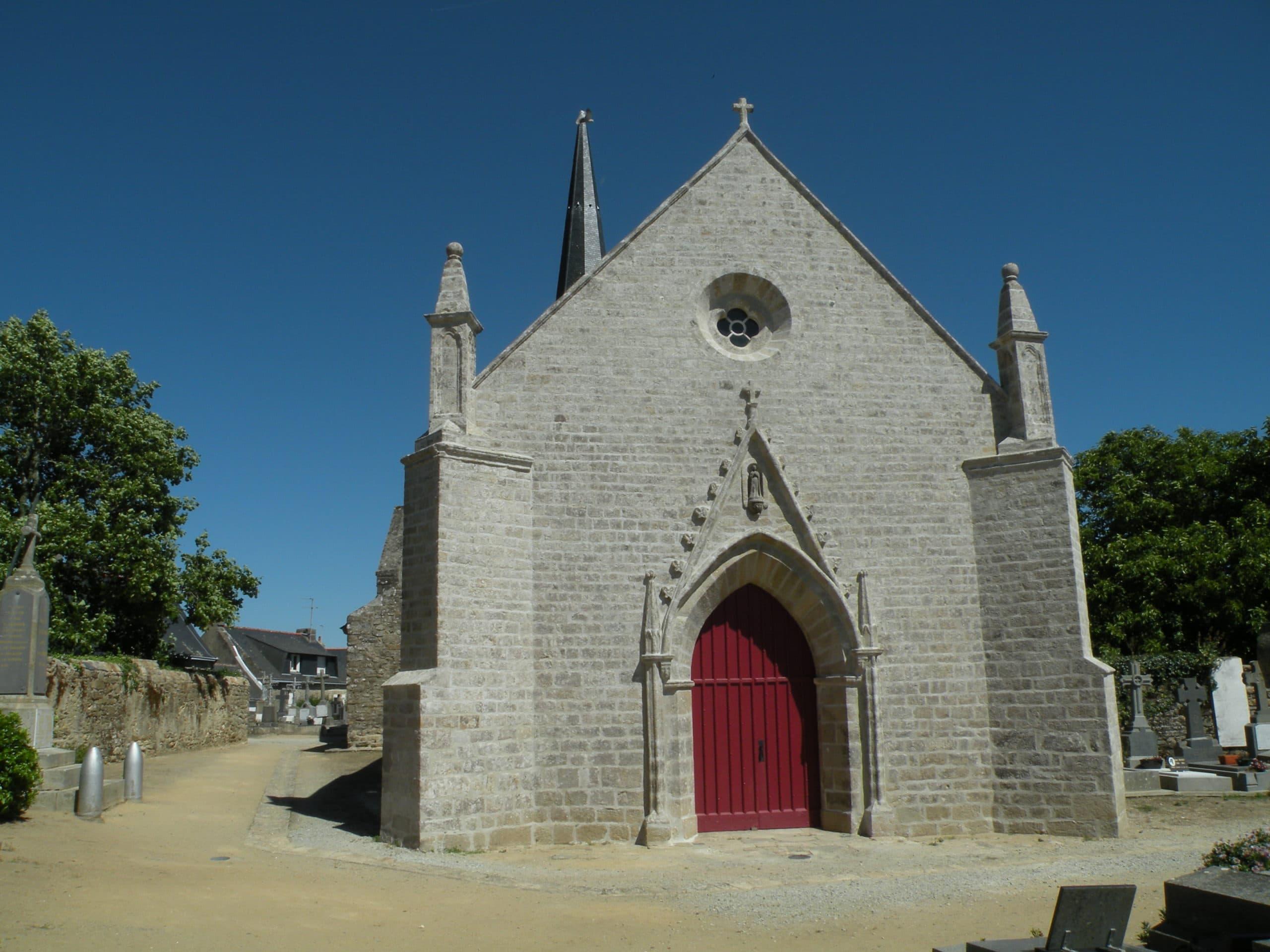 ILE D ARZ l'église