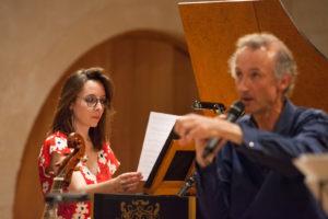 Bruno Cocset & Maud Gratton   Auditorium des Carmes à Vannes