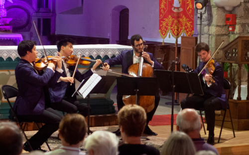 Quatuor Arod | Église de Surzur