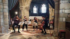Quatuor Tchalik   Église Notre Dame de la Nativité Ile d'Arz